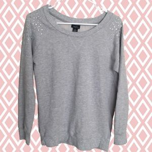 {Rue21} Sweater with Gems on Shoulders